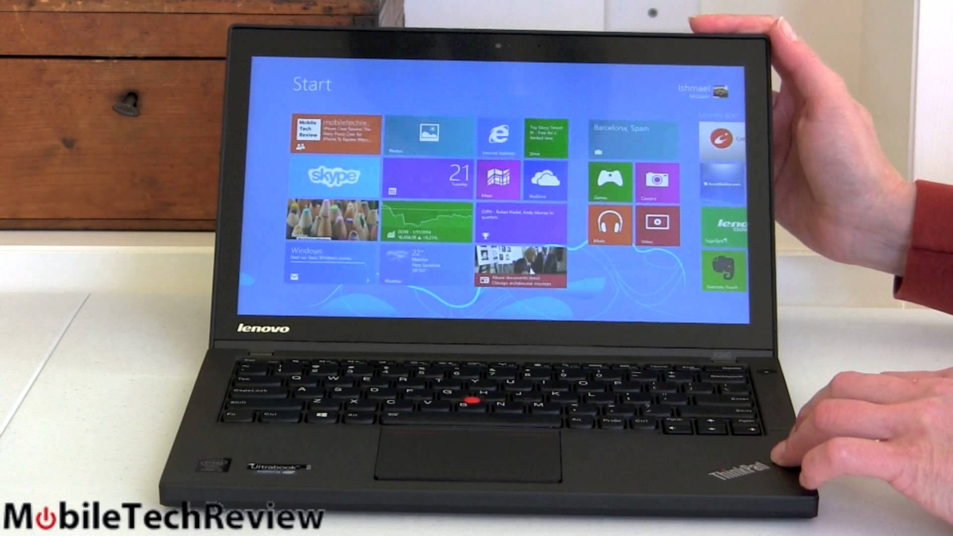 Laptop Lenovo IBM ThinkPad X240