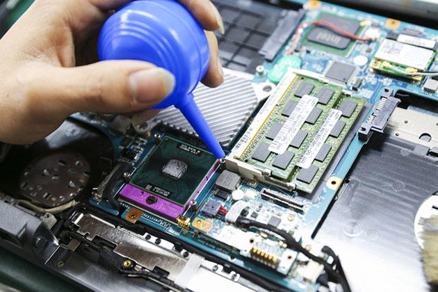 Vệ sinh laptop - Linh kiện Laptop Hải Phòng