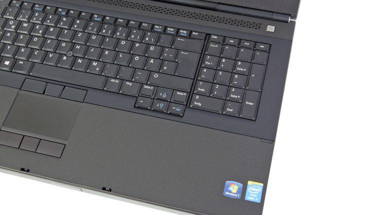Bàn phím Laptop Dell Precision M6800 - Laptop cũ giá rẻ Hải Phòng