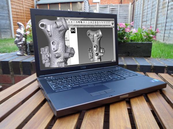 Màn hình Laptop Dell Precision M6800 - Laptop cũ giá rẻ Hải Phòng