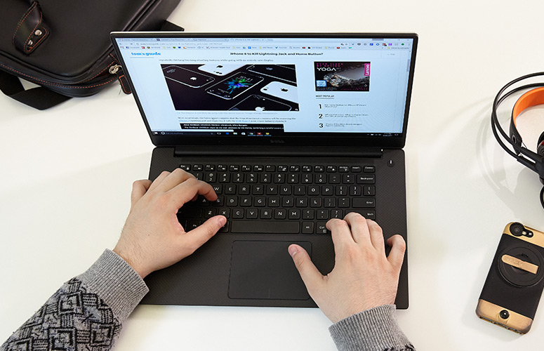 Bàn phím Laptop Dell Precision 5520 - Laptop cũ giá rẻ Hải Phòng