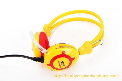 Tai nghe trâu vàng V2K chính hãng giá tốt nhất Hải Phòng