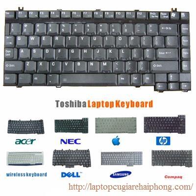 Bàn phím laptop các loại giá tốt nhất Hải Phòng