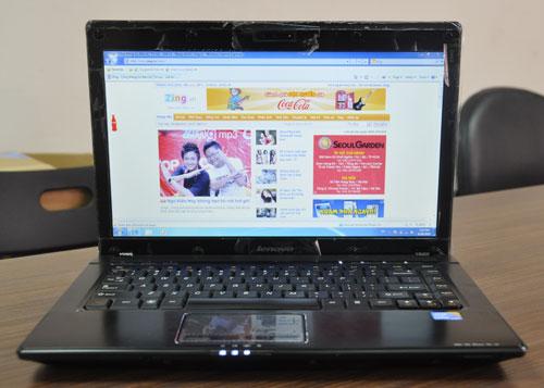 Hàng mới về một em Laptop Lenovo G460 Intel Core i5
